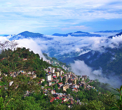Hill station of Sikkim